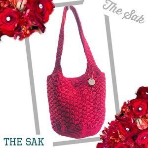 THE SAK Original Woven Shoulder Bag